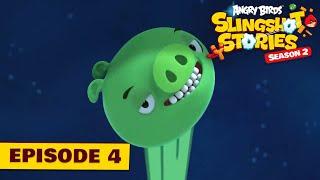 Angry Birds Slingshot Stories - 2x4 - Lietajúce prasatá
