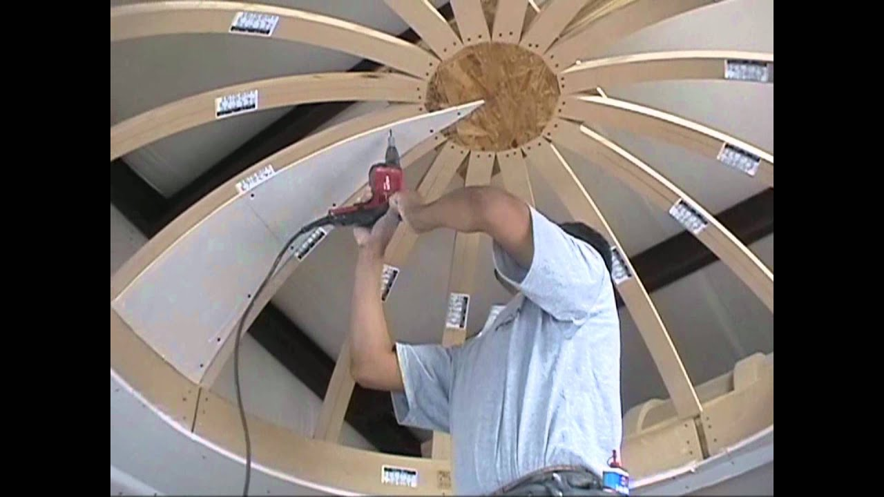 How To Drywall A Dome Ceiling With Archways Amp Ceilings