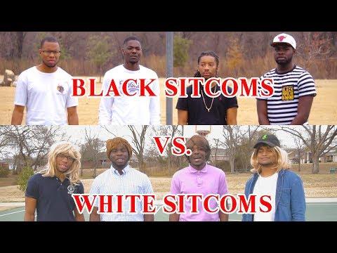 BLACK SITCOM THEMES VS WHITE SITCOM THEMES