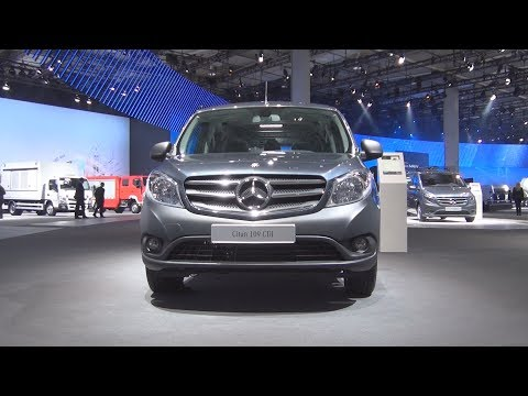 @MercedesBenz Citan Mixto 109 CDI Workshop ALUCA Van (2017) Exterior and Interior in 3D