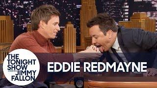 Eddie Redmayne Performs a Magic Trick for Jimmy Fallon