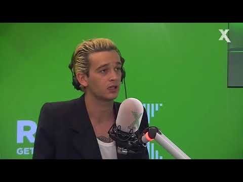 Matty Healy - Give Yourself a Try Interview Radio X