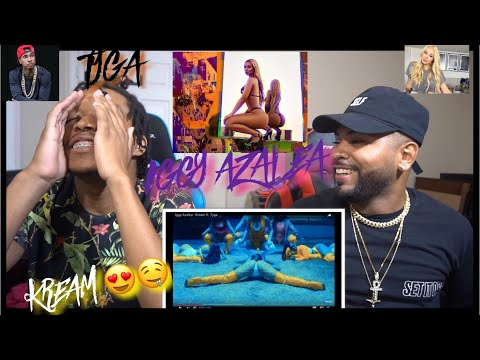 She's Back !?!| Iggy Azalea - Kream ft. Tyga REACTION
