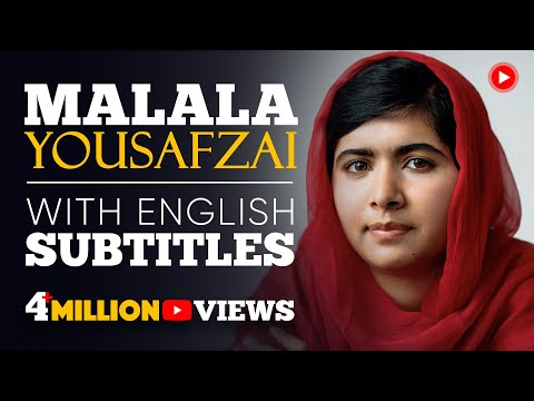 ENGLISH SPEECH | MALALA YOUSAFZAI - Nobel Peace Prize (English Subtitles)