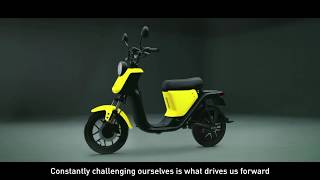 Niu U-Series : le scooter électrique en video