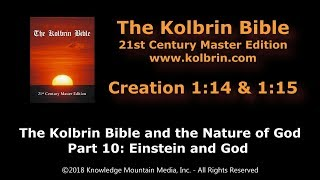 The Kolbrin Bible and the Nature of God: Part 10/10 – Einstein and God