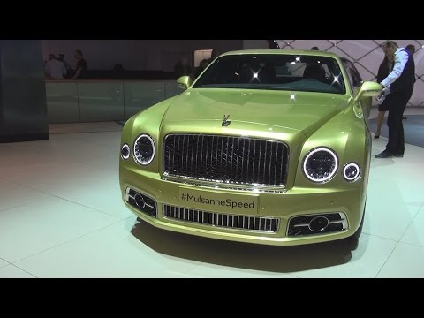 Bentley Mulsanne Speed (2016) Exterior and Interior in 3D