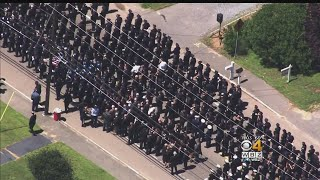 Police Officers Pay Final Respects To Sgt. Chesna