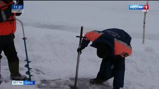На севере области в Тевризском районе открыли две переправы через Иртыш