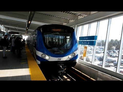 2017/09/16 Vancouver SkyTrain: Canada Line at YVR-Airport