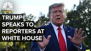 President Trump holds a news conference at the White House – 10/18/2019