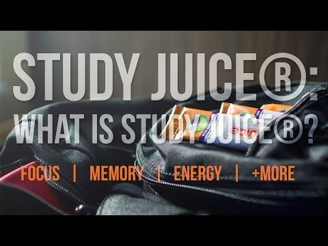 Study Juice®: The Best Supplement for Studying