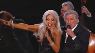 Cheek to cheek - Grammys 2015
