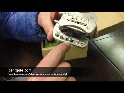 bentgate.com presents an intro to Plum Guide Alpine Touring bindings