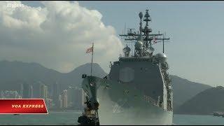 Hải quân Trung Quốc lại đối đầu với tàu chiến Mỹ ở Biển Đông (VOA)