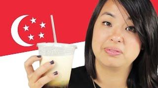 Americans Taste Test Singaporean Food
