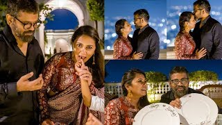 Director Sukumar surprised his wife on her birthday..