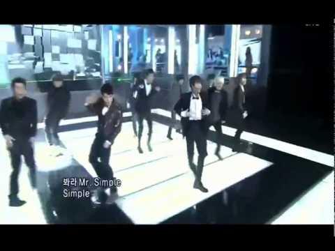 110821 SuJu Special Stage + Mr.Simple + Winner