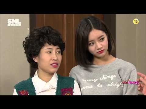 SNL코리아5 - 애교 반상회 by 신동엽,민아,혜리 (2014.10.11)