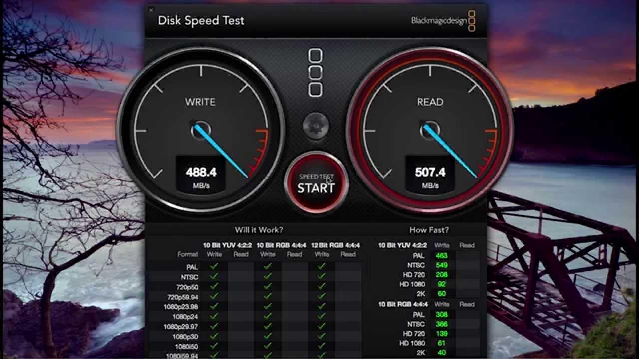 Ssd Speed Test