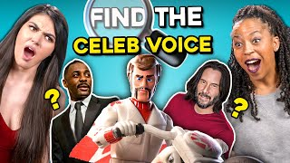 Can YOU Find The Celebrity Voice?