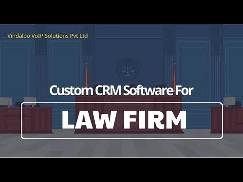 Custom CRM Software for Law firms | VSPL