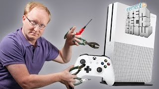 Ben Heck's Xbox Slim Teardown