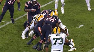 Davante Adams Knocked Out On Brutal Hit By Danny Trevathan   Bears vs. Packers   NFL