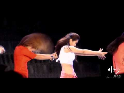 [Fancam] 100821 Yuri SNSD - Dance Break@SM TOWN 2010 Seoul