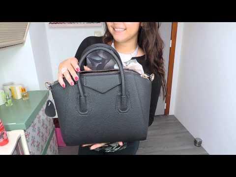 Christi Leather Bag Black