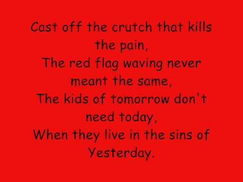 Billy Talent Red Flag Lyrics