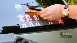 How To Install The Country Western Family Stickers