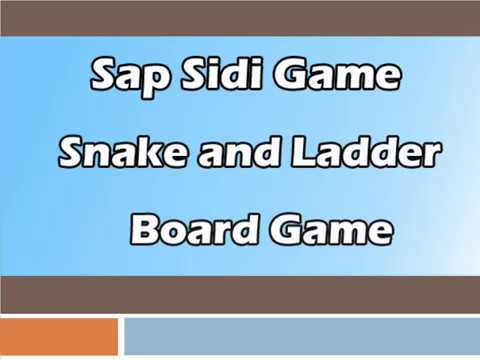 Snake and Ladder Board Game - Play Sap Sidi Dice Multiplayer Game for Enjoyment
