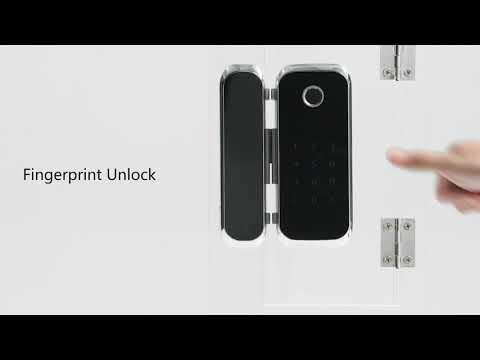KHÓA VÂN TAY THẺ AVENT SECURITY M901S (4in1) - dùng cho cửa kính