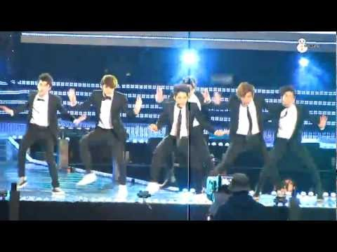 120512 EXO-K - Sorry Sorry HD @ Dream Concert [snowman]