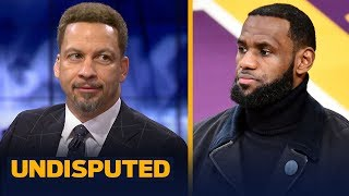 Chris Broussard talks LeBron's health & his MVP odds with Lakers once he returns | NBA | UNDISPUTED