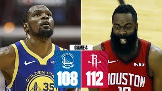 James Harden scores 38 as Rockets even series vs. Warriors | 2019 NBA Playoff Highlights