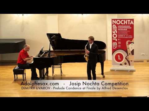 JOSIP NOCHTA COMPETITION DIMITRII UVAROV Prelude Candence et Finale by Alfred Desenclos