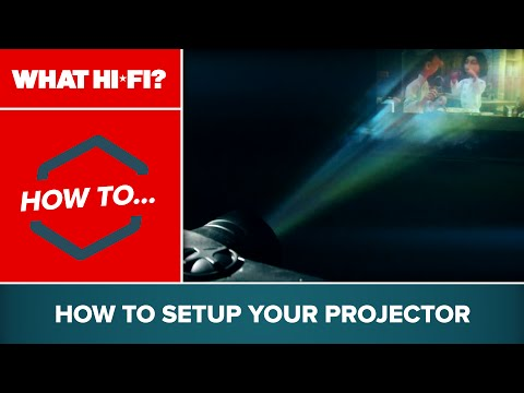 How to: Setup your projector
