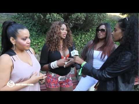 Salt-n-Pepa Interview with Saba G at Rock The Bells 2012