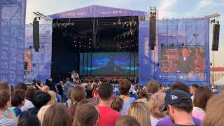 Andrea Bocelli in Palace Square of Saint-Petersburg, Russia. 07.06.19 Full concert at 4K