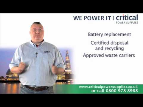 UPS Batteries By Cliff Cheetham