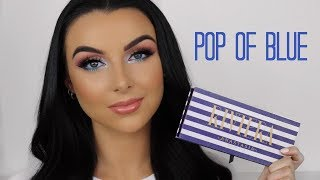 ABH RIVIERA PALETTE TUTORIAL | POP OF BLUE | Serena Cleary