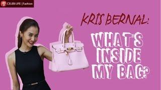 PEP RAID: Inside Kris Bernal's dream bag