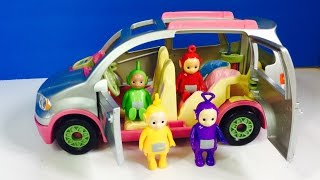 New MUSICAL FISHER PRICE Loving Family SUV with TELETUBBIES Toys!