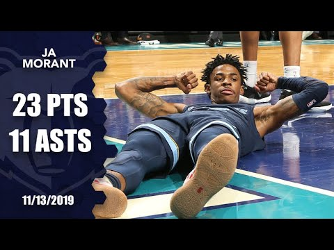 Ja Morant plays hero for Grizzlies vs. Hornets | 2019-20 NBA Highlights