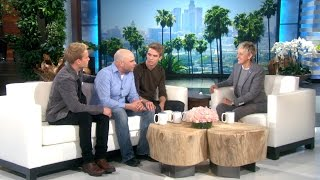 Twins Aaron and Austin Meet Ellen