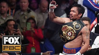 What is Manny Pacquiao's legacy now? | PBC ON FOX