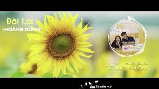Đôi Lời | Hoàng Dũng | Ost 100 Ngày Bên Em | Lyric Video | Kara | Audio Spectrum