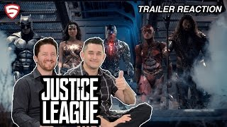 Justice League - Official Trailer 1 Reaction